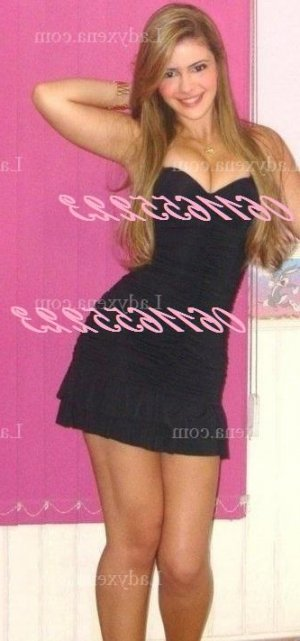 Aniya escort girl rencontre libertine